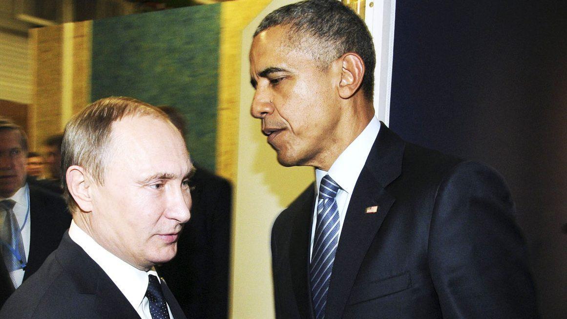 Vladimir Putin y Barack Obama coincidieron durante la Cumbre del Clima en París (Foto: Reuters)