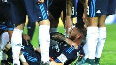 De Marcos y Nacho sustituirán a los lesionados Ramos y Juanfran en La Roja (Foto: AFP)