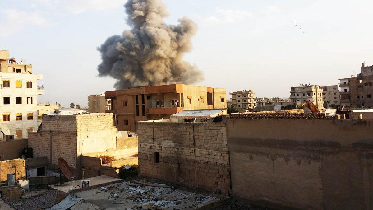 Raqqa, en Siria, se ha convertido en una de las fortalezas del Estado Islámico (Foto: Getty)