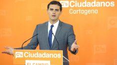 Albert Rivera, candidato de Ciudadanos a la presidencia del Gobierno