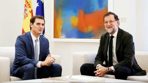 Albert Rivera y Mariano Rajoy (Foto: Getty)