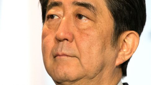 El primer ministro de Japón, Shinzo Abe. (Foto: GETTY)
