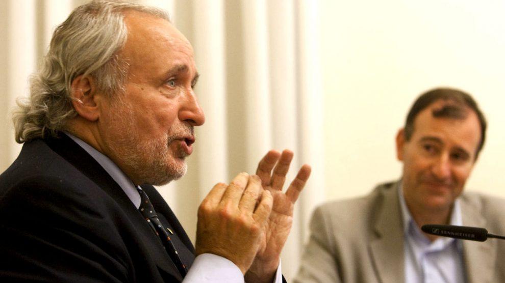 El ex conseller de Industria y Trabajo de la Generalitat, Antoni Fernández Teixidó.