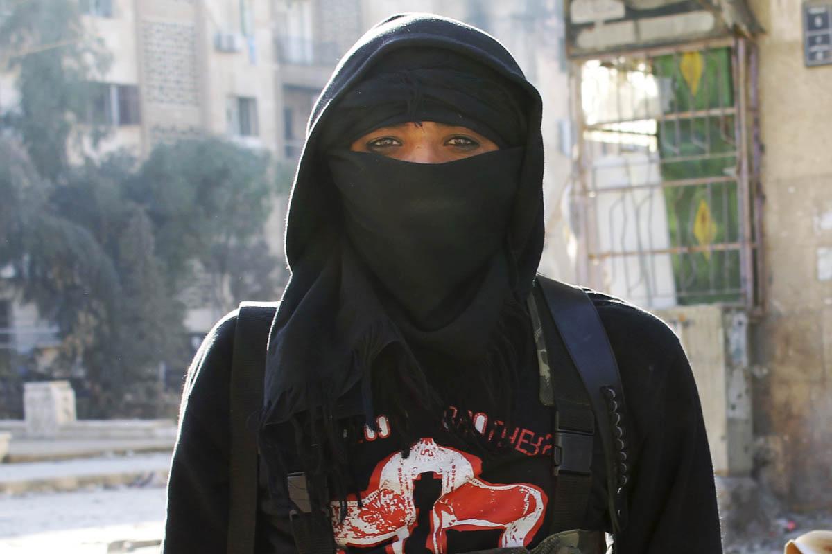 Imagen de un yihadista del Frente Al-Nusra. (Foto: AFP)