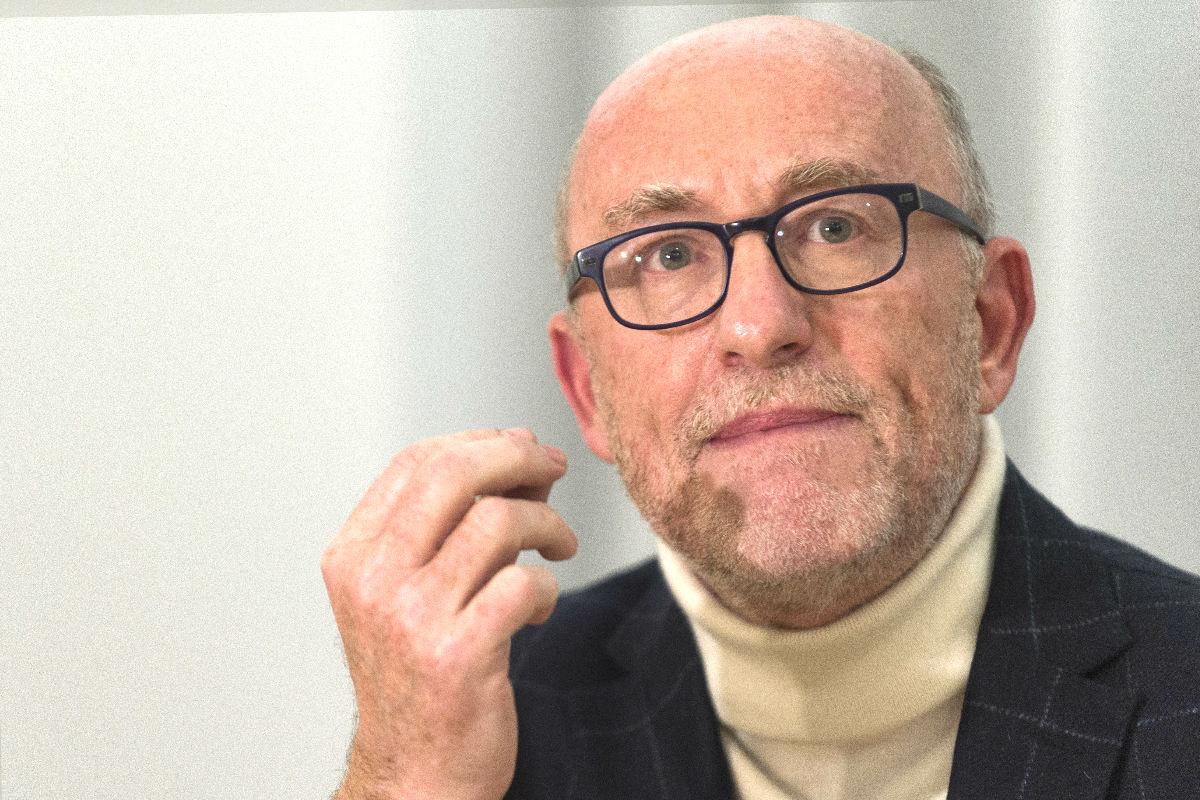 El abogado de Benzema, Alain Jakubowicz (Foto: AFP)