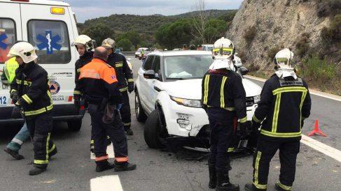 Imagen de un reciente accidente. (Foto: Efe).