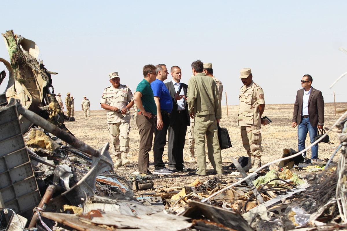 Airbus ruso siniestrado en el Sinaí. (Foto: Getty)