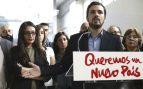 El candidato a la presidencia del Gobierno de Izquierda Unida, Alberto Garzón