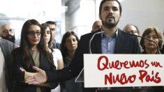 El candidato a la presidencia del Gobierno de Izquierda Unida, Alberto Garzón (Foto: Efe)