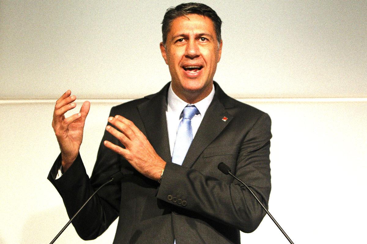 Xavier García Albiol, presidente del PP catalán. (Foto: Efe)