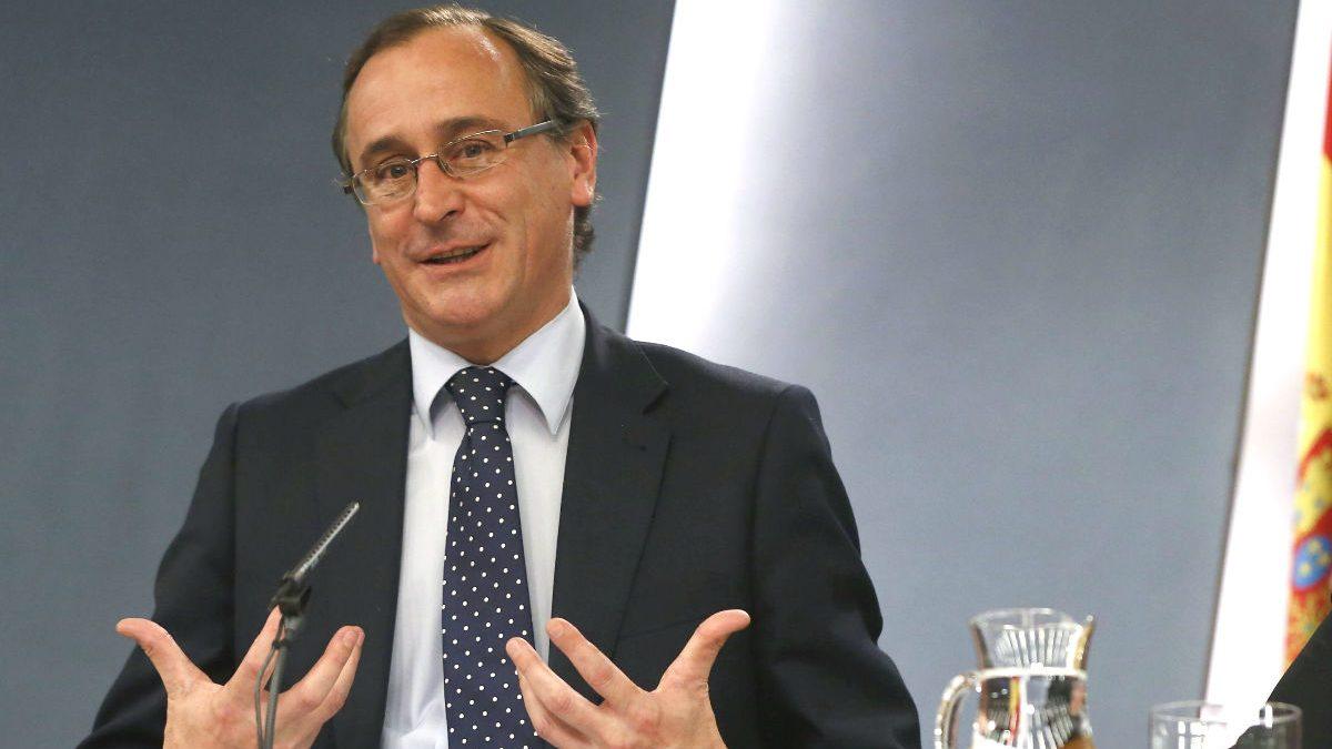 El candidato del PP en las elecciones vascas, Alfonso Alonso (Foto: Efe).