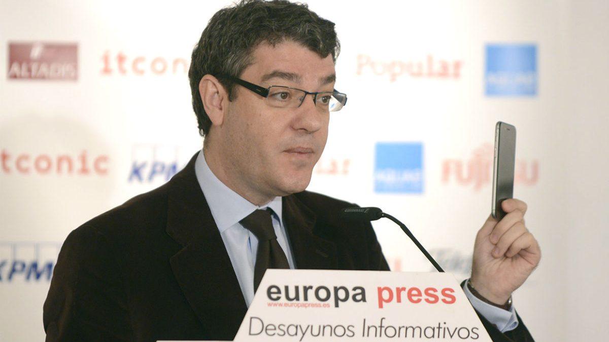 El ministro de Energía, Álvaro Nadal (Foto: Tribunas Informativas de Europa Press).