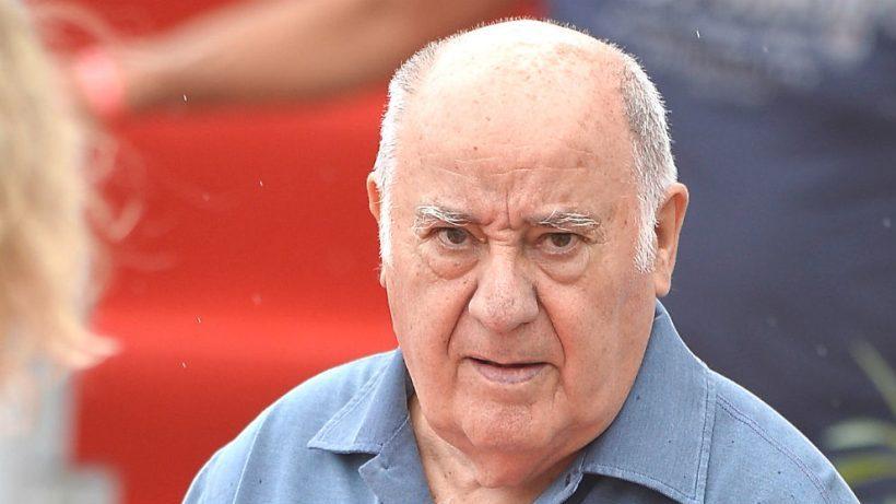 El empresario Amancio Ortega, propietario del grupo Inditex.