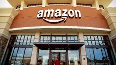 Fachada de la tienda de Amazon en Seattle.