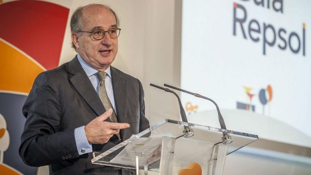 El presidente de Repsol, Antonio Brufau (Foto: Repsol).
