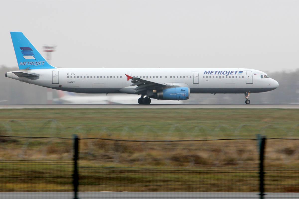 Avión similar al que se estrelló este sábado en la península del Sinaí. (Foto: AFP)