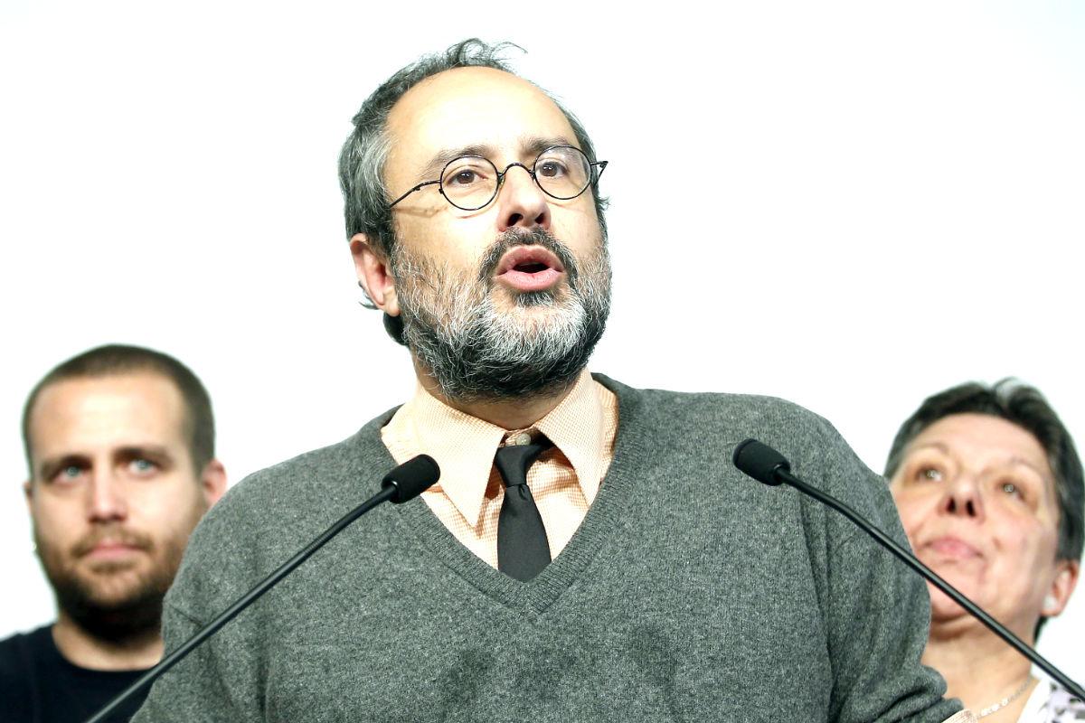 Antonio Baños en rueda de prensa (Foto: Efe)