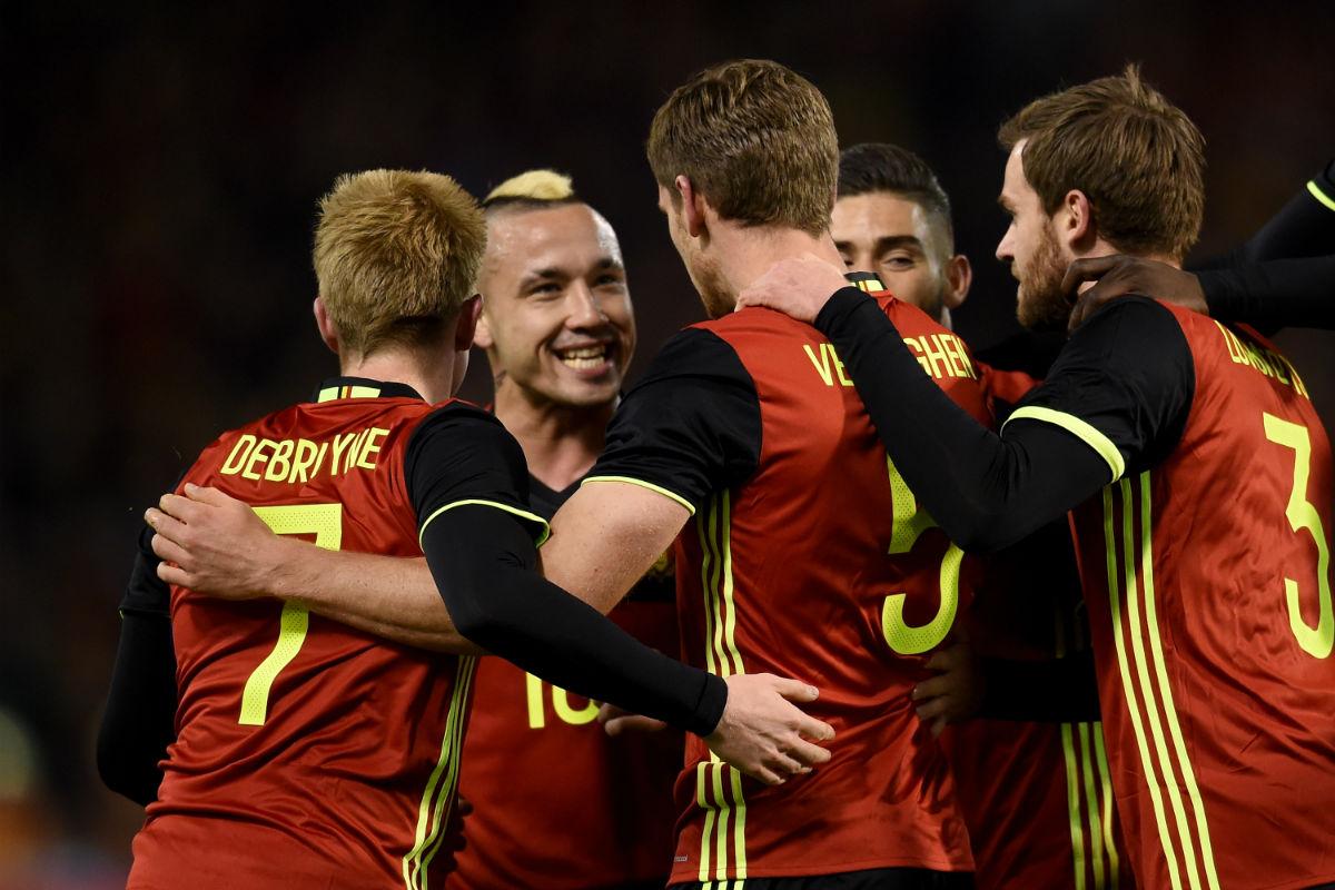 Bélgica ocupa la primera posición del ranking FIFA (Reuters)