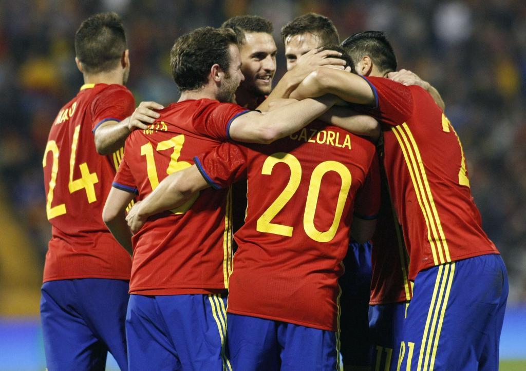 España venció a Inglaterra