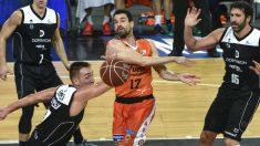 El Bilbao Basket, obligado a viajar a París (Foto: EFE)