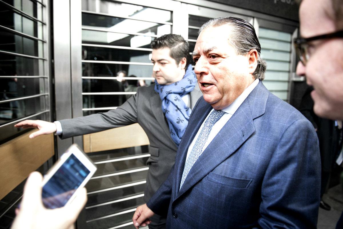 Viicente Boluda entrando al  Juzgado de Instrucción número 51 de Madrid. (Foto: EFE)