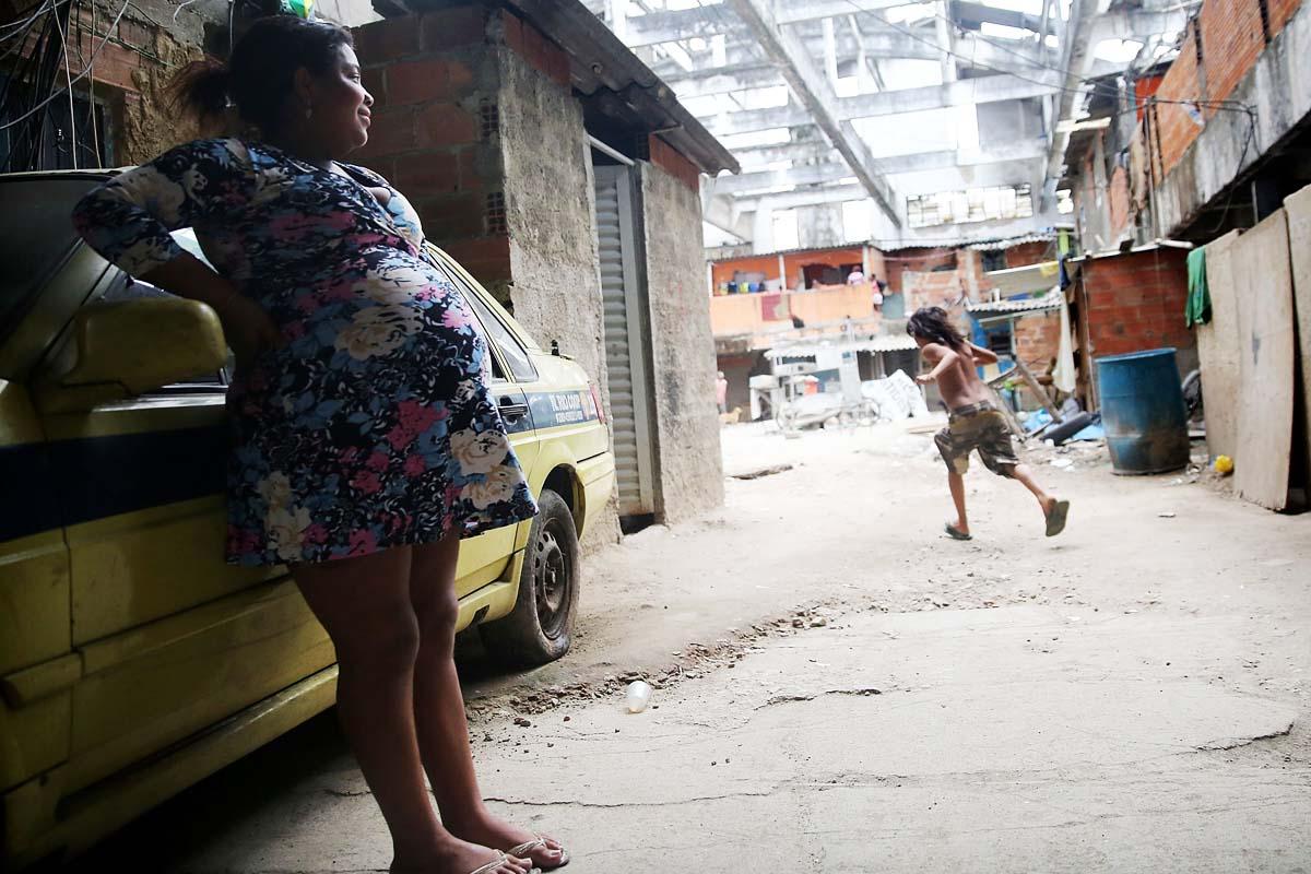Una favela de Brasil. Foto: AFP