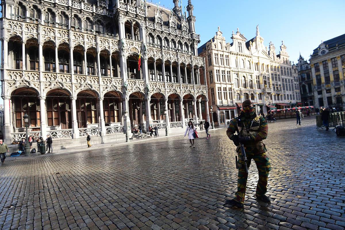 Este domingo se detuvo a 16 personas relacionadas con el terrorismo yihadista. (Foto: AFP)