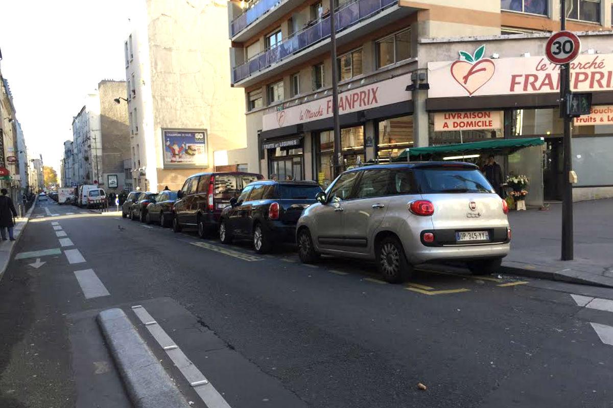 Calle en la que fue encontrado el coche (Foto: Nuria Val)