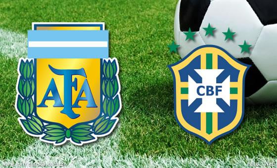 argentina vs brasil canal tv