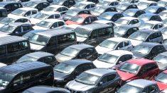 Conjunto de coches aglomerados. (Foto: GETTY).
