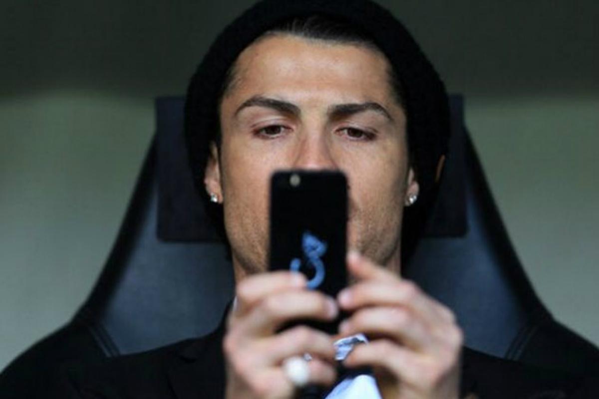 Cristiano Ronaldo, un habitual en las redes sociales