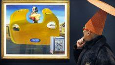 Muestra de Dalí en la National Gallery. (Foto: AFP)