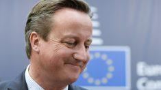 David Cameron, ex primer ministro británico. (Foto: AFP)