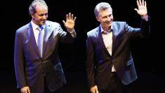 Macri optó por no llevar corbata y por utilizar un tono más informal en su discurso. (Foto: AFP)