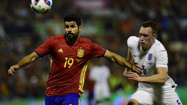 Diego Costa sigue atascado: un gol en diez partidos con España