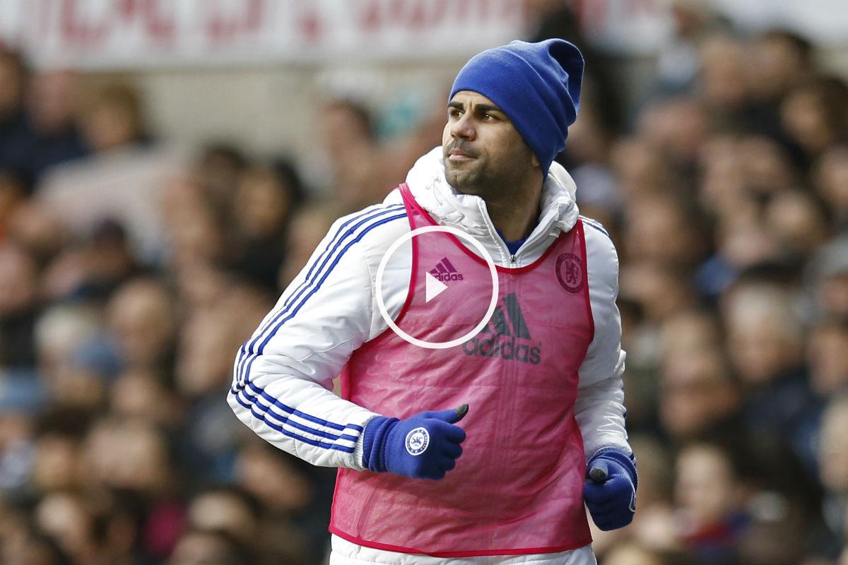 Diego Costa lanzó el peto a Mourinho (Getty)