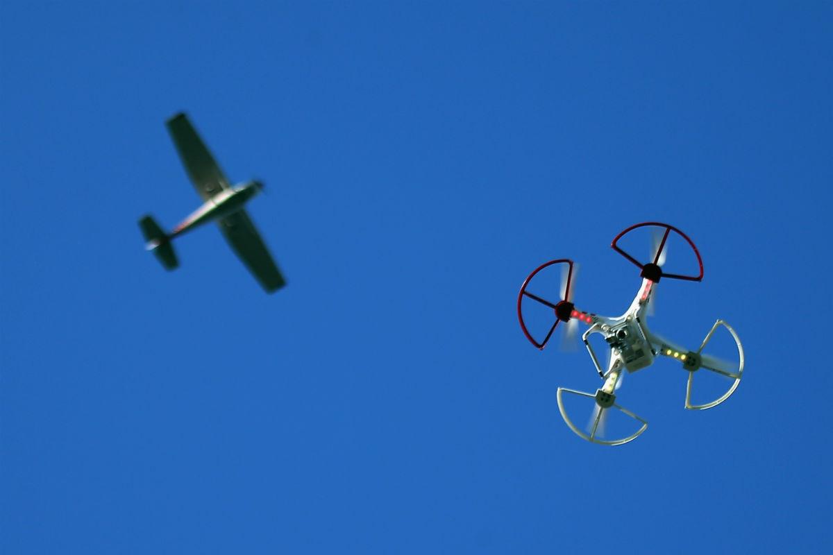 El uso de drones en espacios aéreos (Foto GETTY).