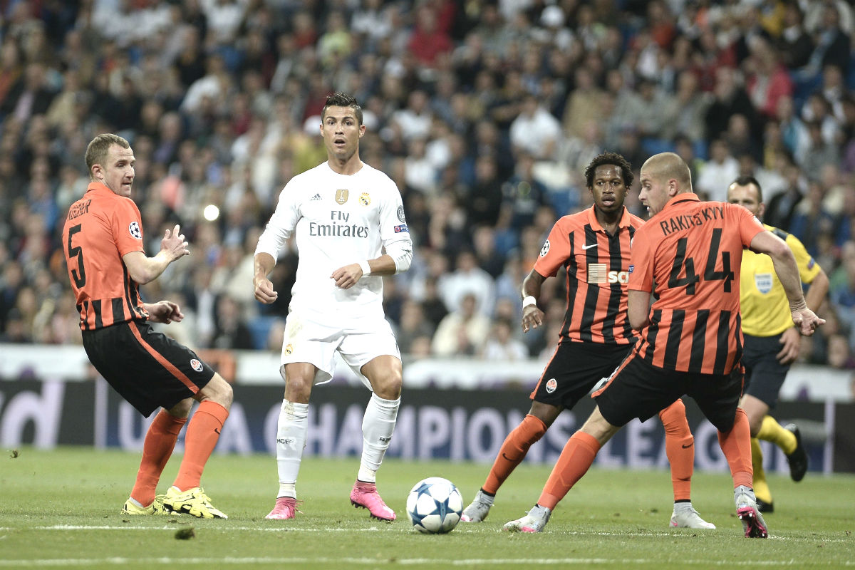 Shakhtar Vs Real Madrid en vivo (Getty)