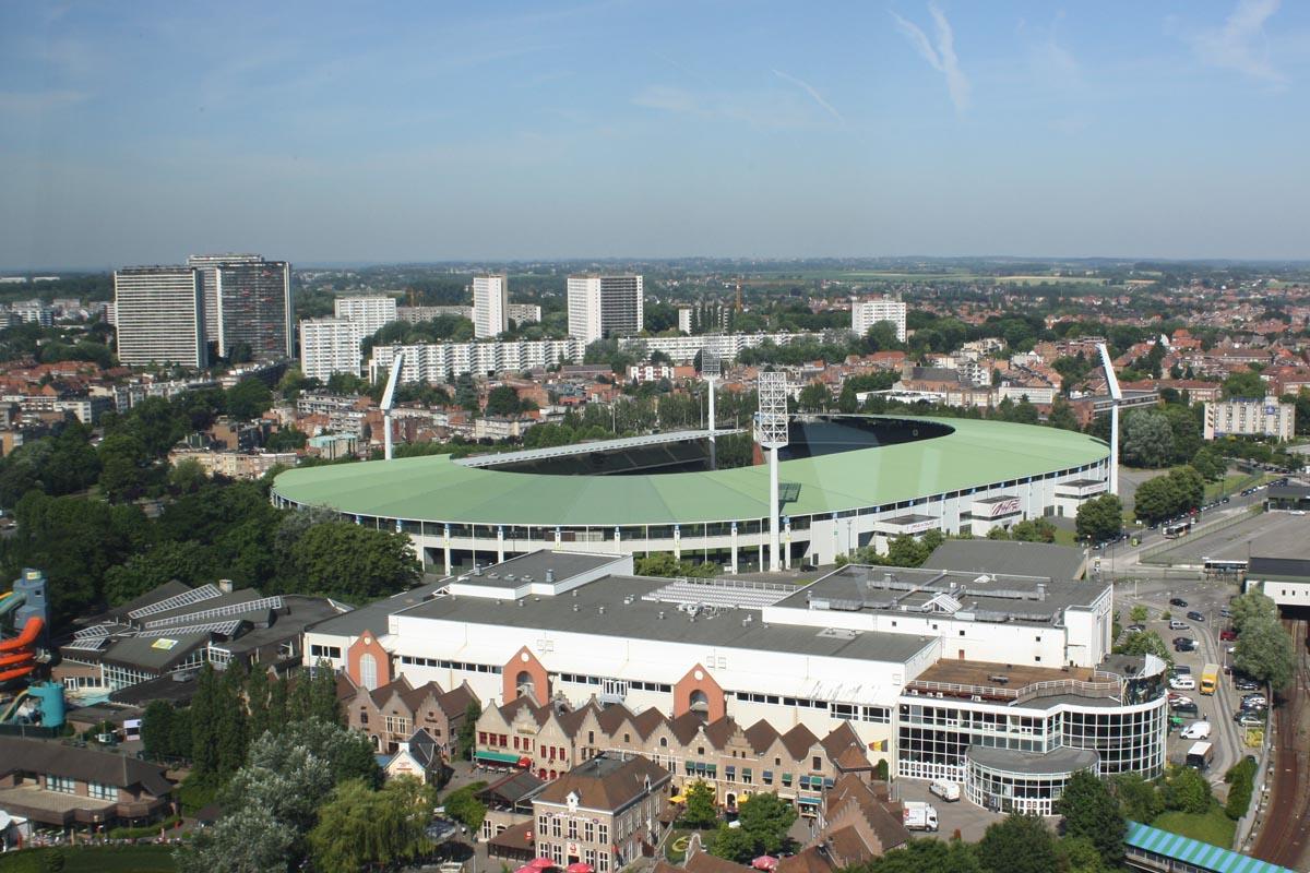 Estadio Rey Balduino, en Bruselas.