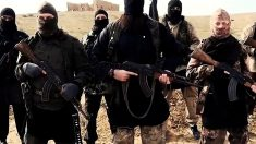 Imagen de yihadistas armados.