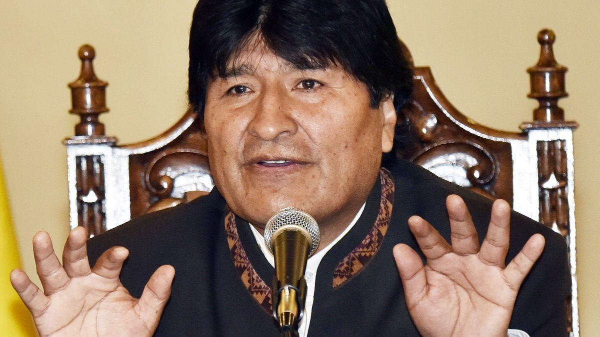 Evo Morales (Foto: AFP)