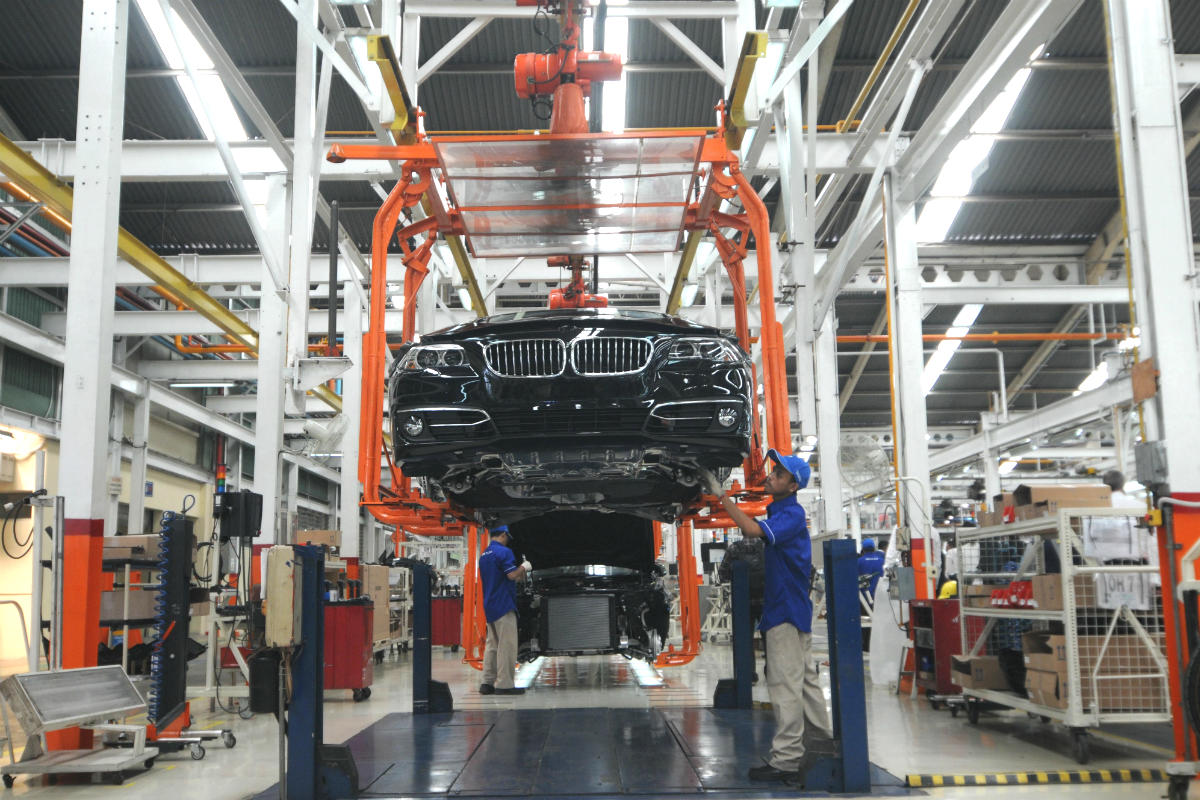 Fábrica de BMW (Foto: GUETTY).