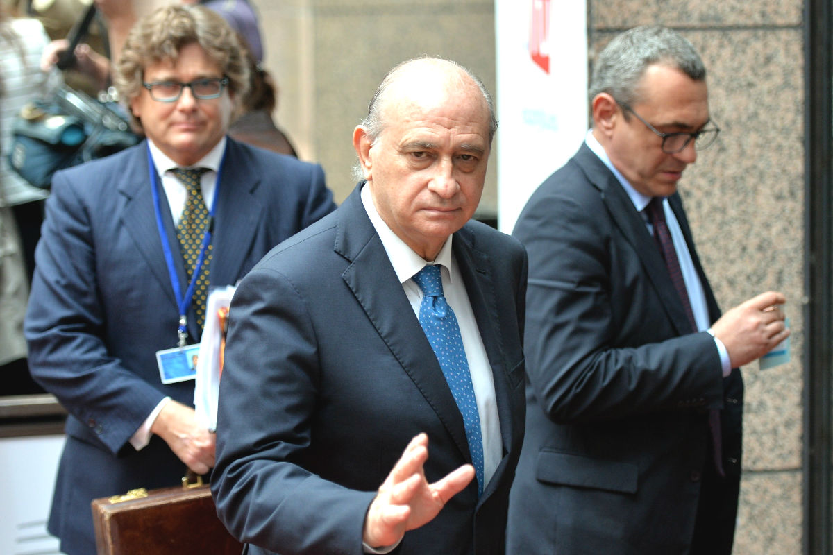 El ministro del Interior en funciones, Jorge Fernández Díaz (Foto: Getty)