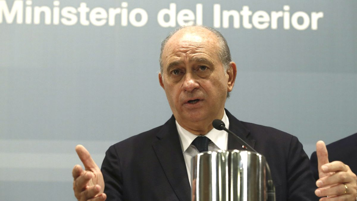 El ministro del Interior, Jorge Fernández Díaz (Foto: Efe)