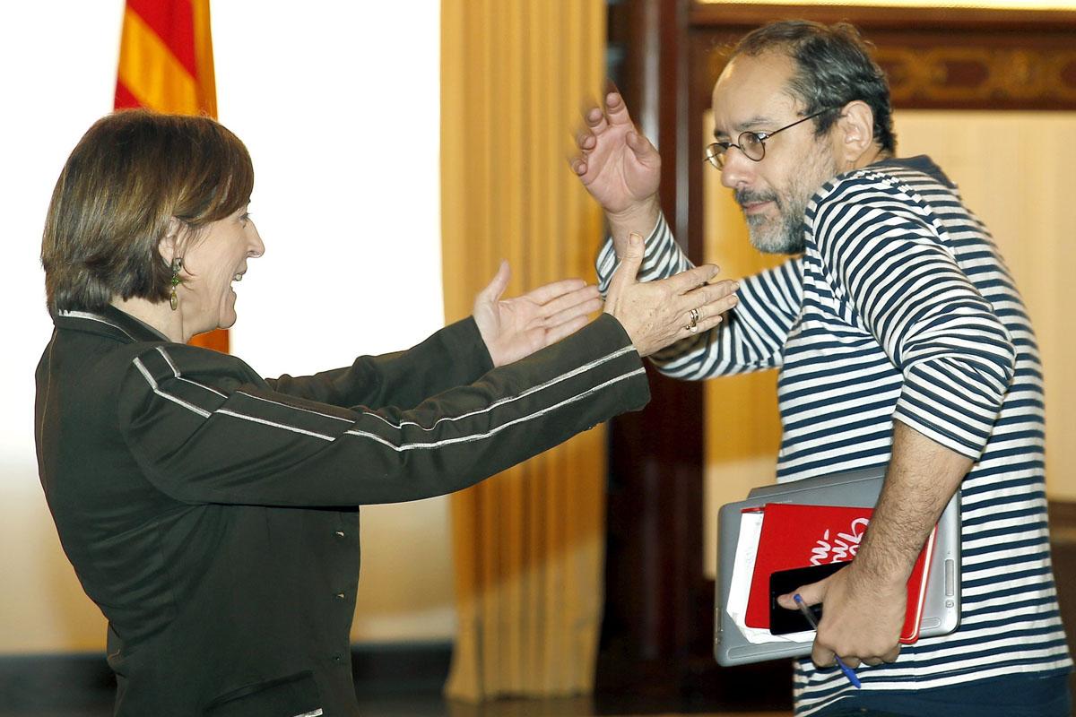 La CUP no quiere a Mas de presidente, pero no pone otro nombre sobre la mesa. (Foto: EFE)