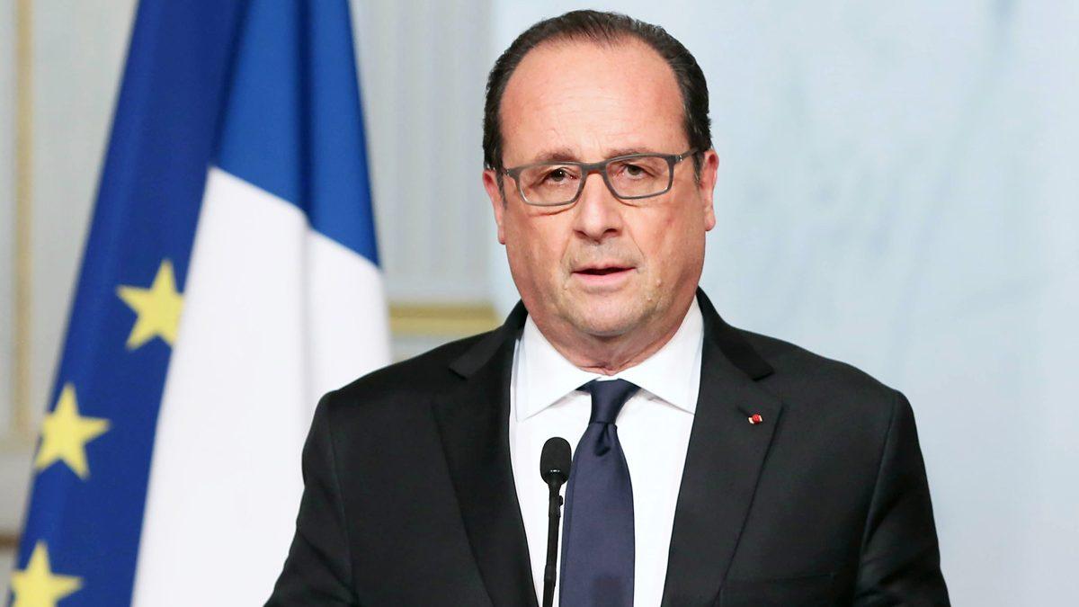 François Hollande, presidente de Francia. (Foto: AFP)