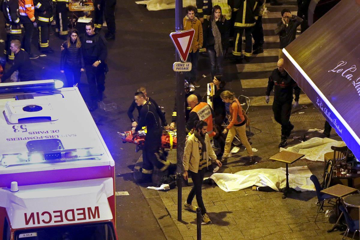 Imagen de uno de los lugares donde se produjeron los ataques. (Foto: AFP)