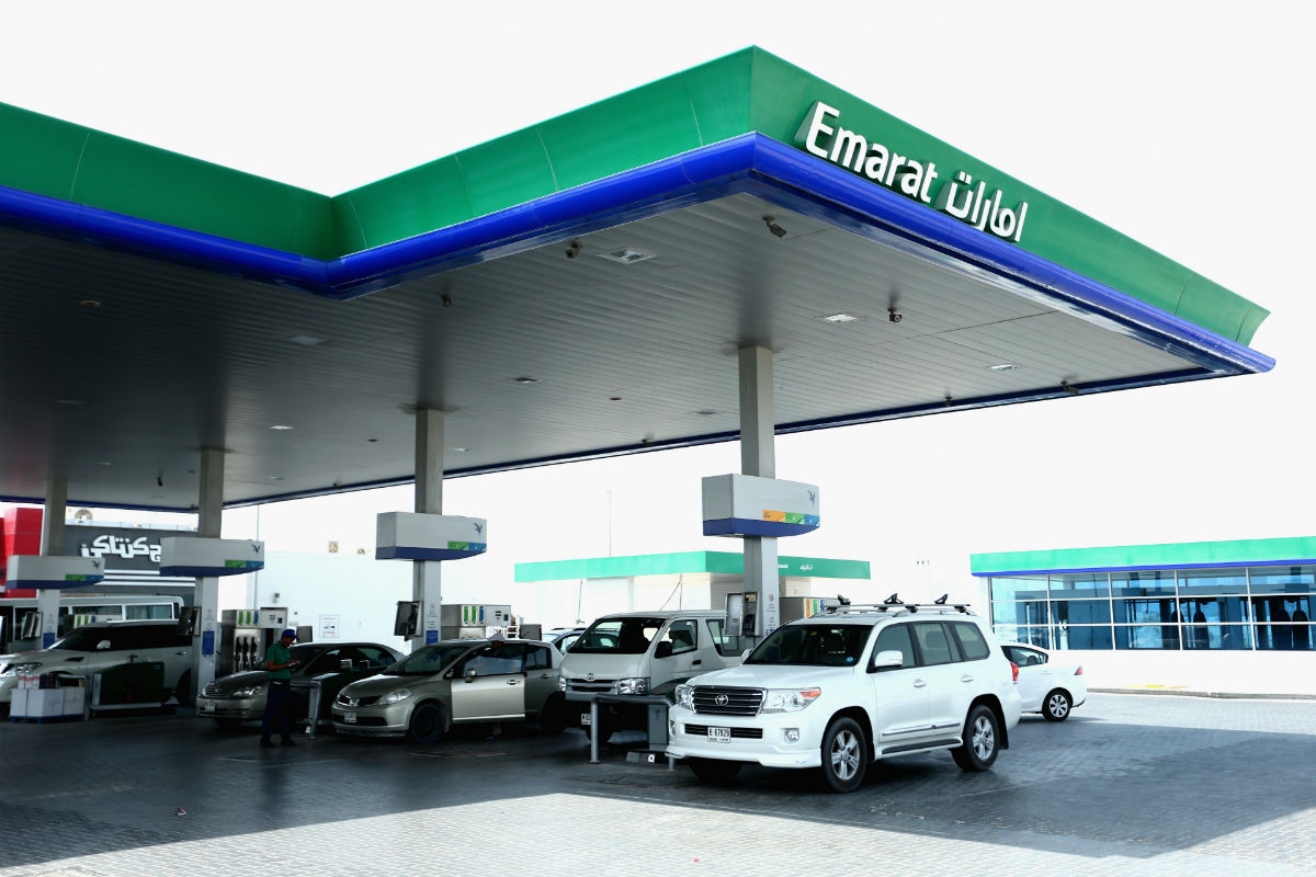 Gasolinera en Emiratos Árabes Unidos (Foto: GETTY).