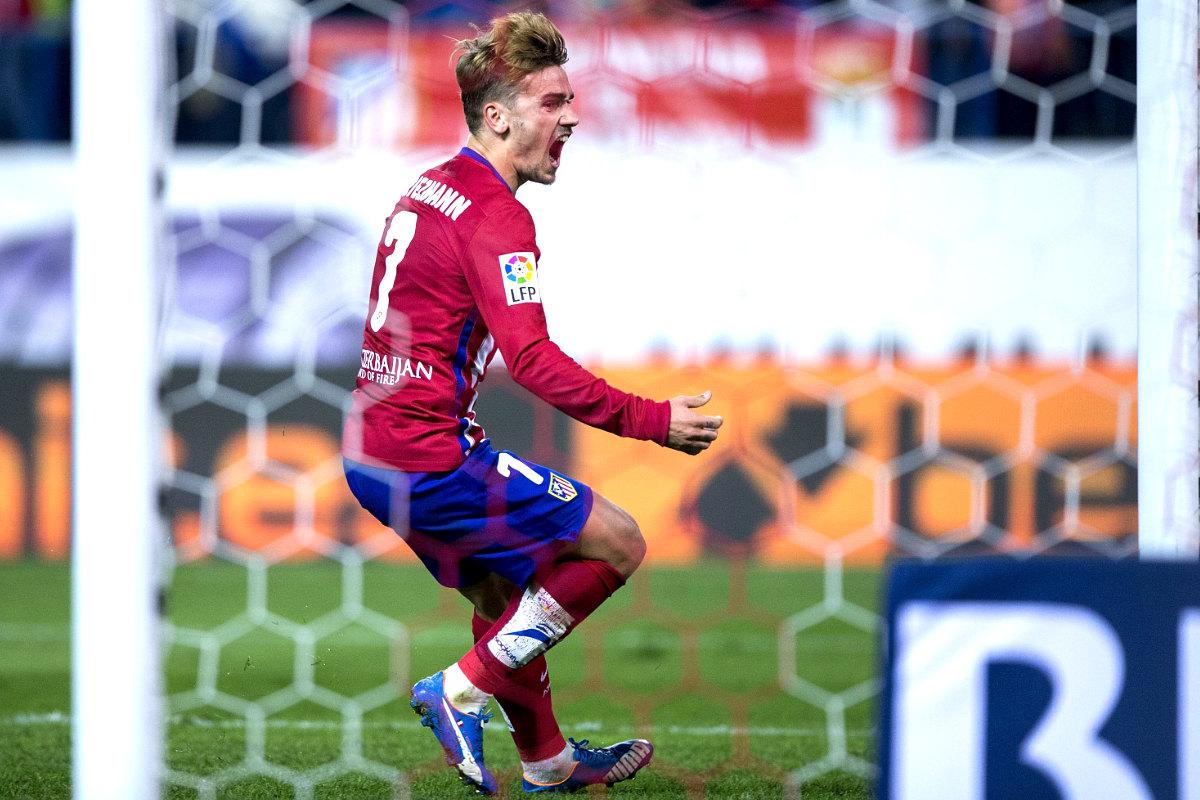 Sin los goles de Griezmann el Atleti estaría a 10 puntos del Barça (Foto: Getty)