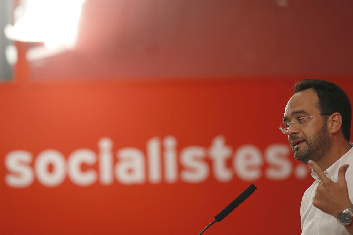 Antonio Hernando, portavoz del PSOE en el Congreso.